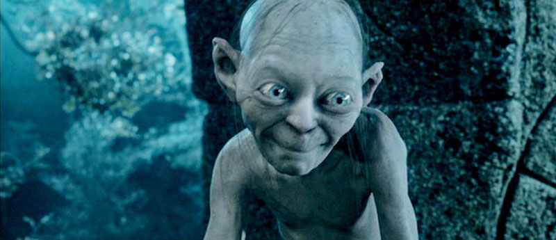 gollum amp smeagol the struggle in us all � christopher